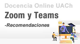 Zoom y Teams - Recomendaciones