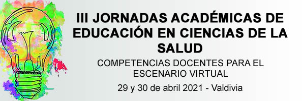 III Jornadas Académicas de Educación en Ciencias de la Salud